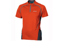Asics Men's Trail SS 1/2 Zip Top cone orange